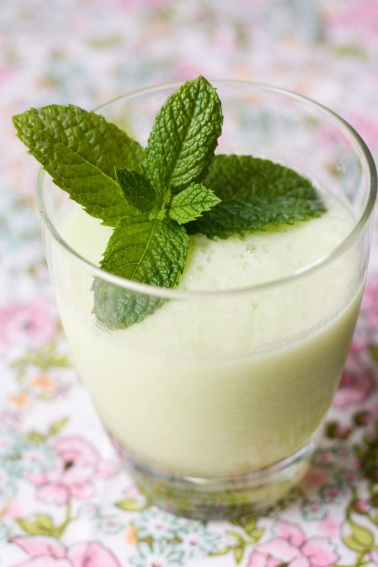 Honeydew Lime-Mint Cooler